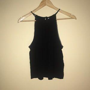 H&M, black tank top/going out shirt